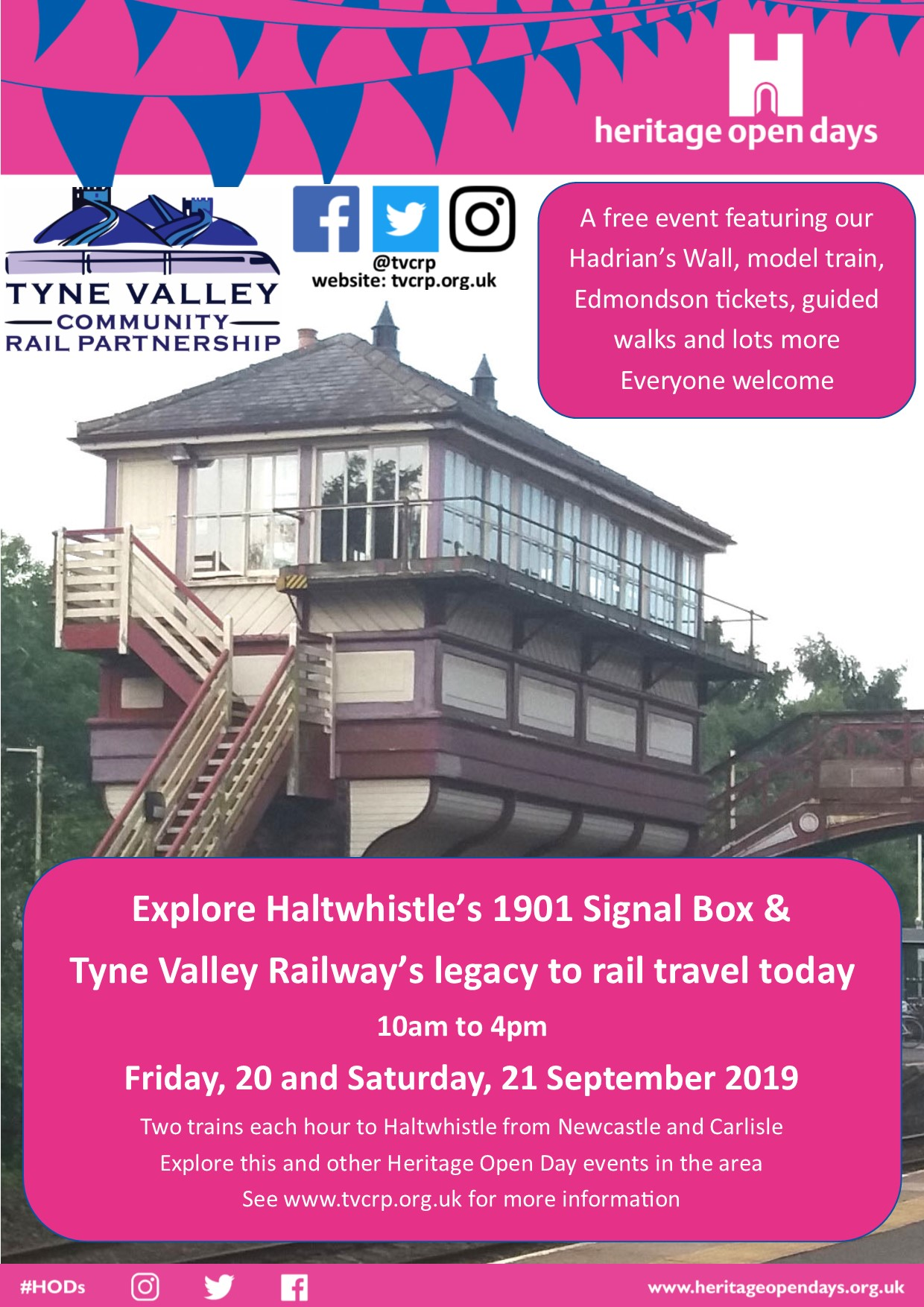 Haltwhistle Heritage Open Days