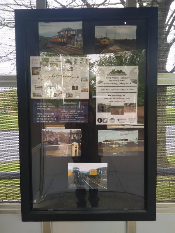 Blaydon Noticeboard 1