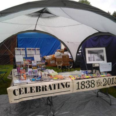 175 year tent at the Northumberland County Show